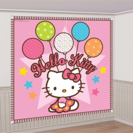 Hello Kitty versiering muur