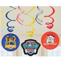 Paw Patrol hangdecoratie 3 stuks
