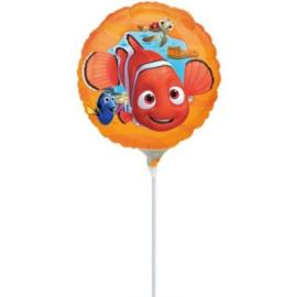 Finding Nemo folie ballon op stok