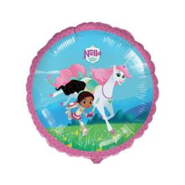 Nella en de ridderprinses folie ballon 45cm