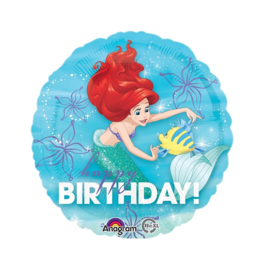 Ariel zeemeermin folie ballon 45cm