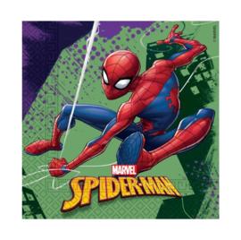 Spiderman servetten 20 stuks 33x33cm