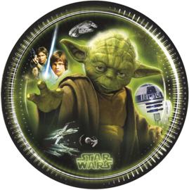 Star Wars Yoda borden 8 stuks 19,5cm