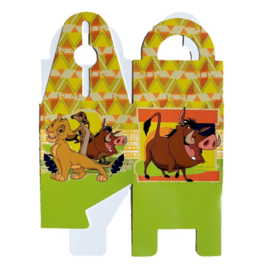 The Lion King mini snoepdoosjes 8 stuks