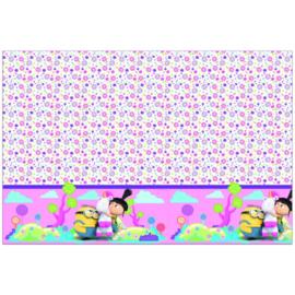 Minions Agnes en Fluffy tafelkleed 120x180cm