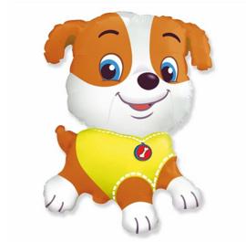 Bulldog folie ballon 78cm