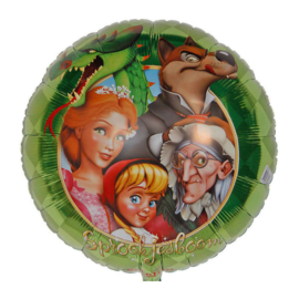 Sprookjesboom folie ballon 45cm