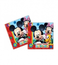 Servetten Mickey Mouse Clubhouse 20 stuks