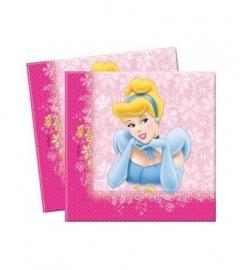 Prinsessen servetten 16 stuks