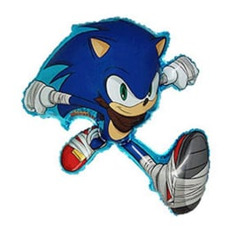 Sonic the hedgehog folie ballon 92x74cm