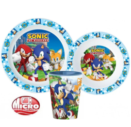 Sonic ontbijtset 3-delig