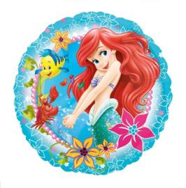 De kleine zeemeermin folie ballon