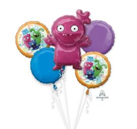 Ugly Dolls Moxy ballonnen set 5 stuks