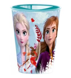 Frozen 2 beker plastic herbruikbaar 260ml