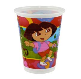 Dora bekers 8 stuks 200ml