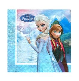 Frozen servetten 16 stuks 33cm