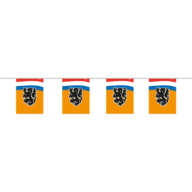 Oranje slinger voetbal mini 4m