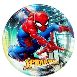 Spiderman borden 8 stuks 23cm