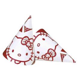Hello Kitty feesthoedjes 6 stuks