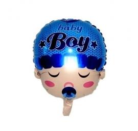 Baby folie ballon babyboy