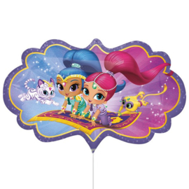 Shimmer and Shine folie ballon 68cm