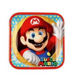 Super Mario borden 8 stuks 22,8cm