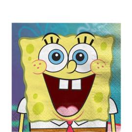 Spongebob Squarepants servetten 16 stuks 33cm