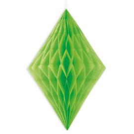 Honeycomb diamant groen 35,5cm