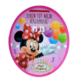 Minnie Mouse aftelkalender