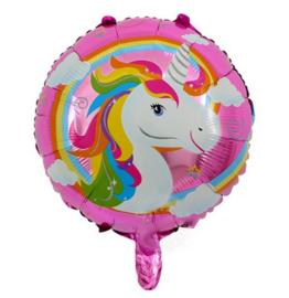 Eenhoorn folie ballon 45cm