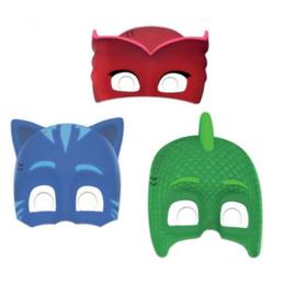 PJ Masks maskers 6 stuks