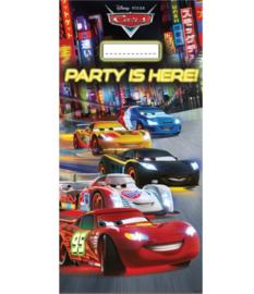 Cars deur banner plastic 76x152cm