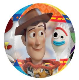 Toy Story folie ballon rondvormig 38x40cm