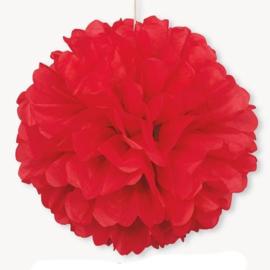Pompon rood 40,6cm