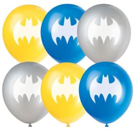Batman ballonnen 8st 30cm