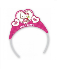 Hello Kitty hearts Tiara 6 stuks