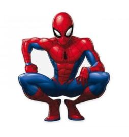 Spiderman decoratie karton groot 80x67cm