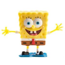 Spongebob taart topper 8cm