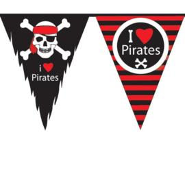 Piraten slinger vlaggenlijn 10m