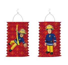Brandweerman Sam lampion 28cm