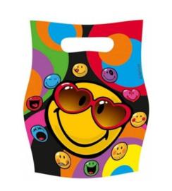 Emoji feestzakjes 6 stuks