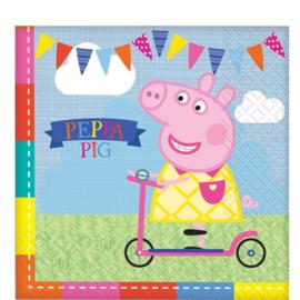 Peppa Pig servetten 16 stuks