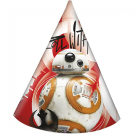 Star Wars feesthoedjes 6 stuks