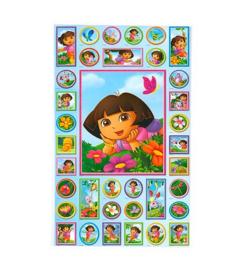 Dora stickers 2 vellen