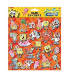 Spongebob foamstickers 24x20,5cm