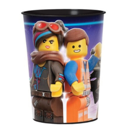 Lego movie beker plastic 473ml