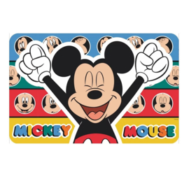 Mickey Mouse placemat 43x28cm