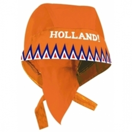 Bandana oranje holland