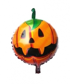 Folie ballon Halloween pompoen