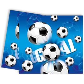 Voetbal tafelkleed 120x180cm